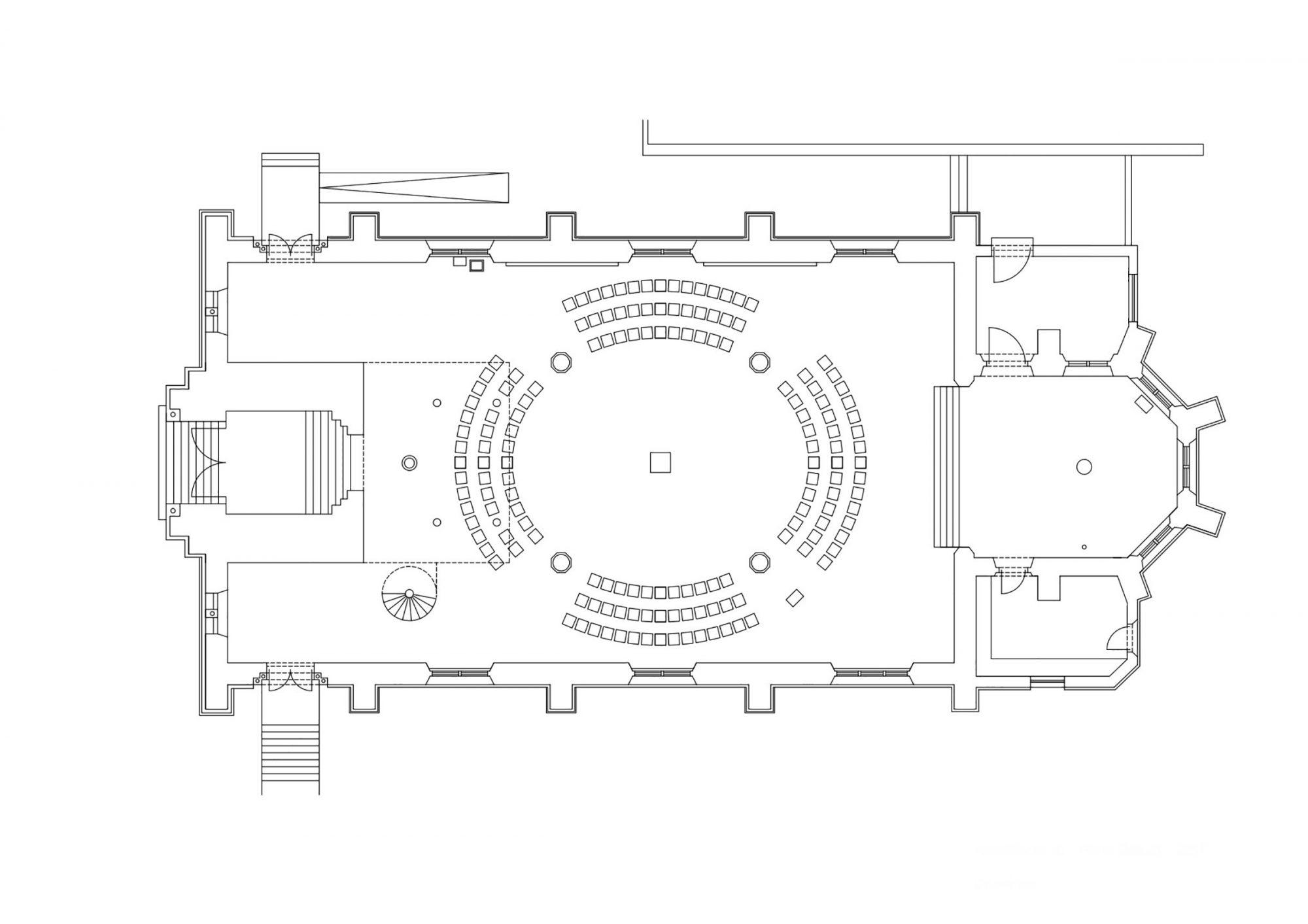 Aschaffenburg, Maria Geburt. Neugestaltung der neugotischen Kirche 1999. Phase 3/2017. Künstlerische und raumliturgische Gestaltung: Leo Zogmayer, Architektur: Ritter + Bauer