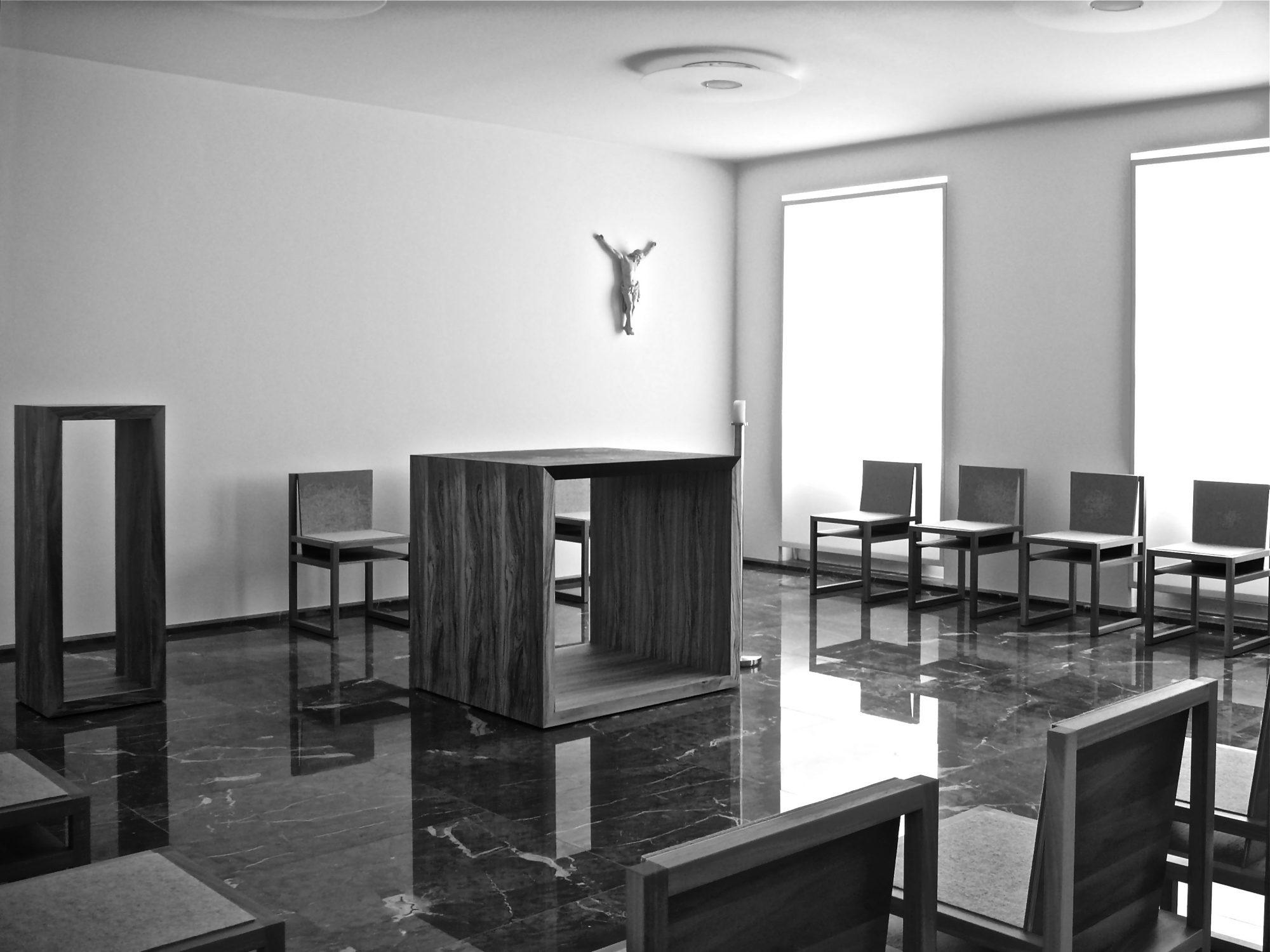 Brüssel, Kapelle der Europäischen Bischofskonferenz, 2009