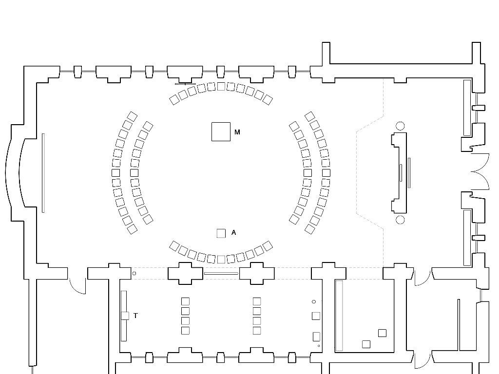 Friedberg, Vinzenz Pallottikirche. Raumliturgische Konzeption und künstlerische Gestaltung: Leo Zogmayer, Thomas N Pauli, Architekt: Markus Weinkopf, 2012