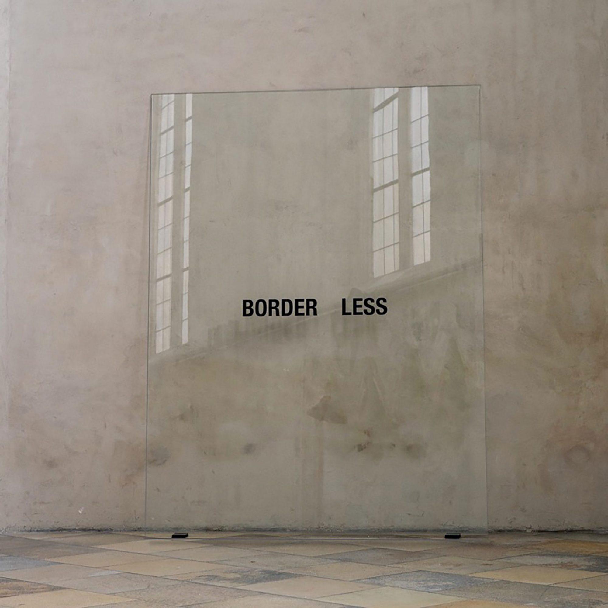 2019, Hinterglasmalerei / reverse glass painting, 240x180cm. Ausstellung REDEN SCHWEIGEN WOVON, Museum Krems