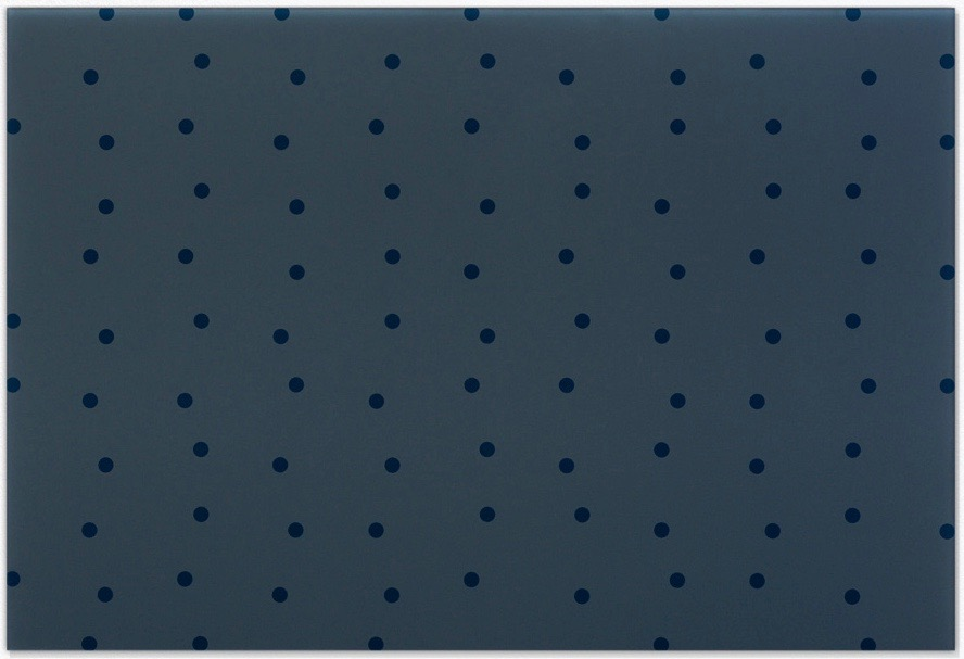 Feld (blau-grau) / Field (blue-grey), 2003, Hinterglasmalerei / reverse glass painting, 75x110cm