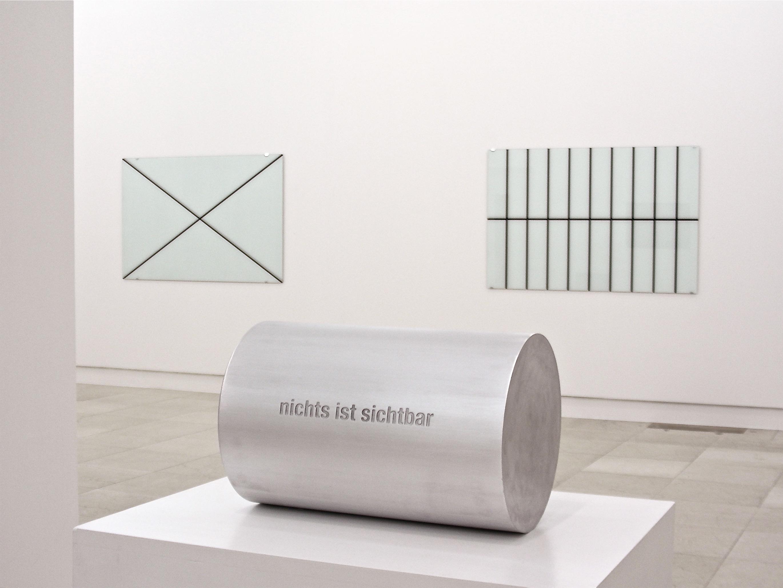 nichts ist sichtbar / nichts ist unsichtbar<br>2007, Aluminium 20x20x29cm
