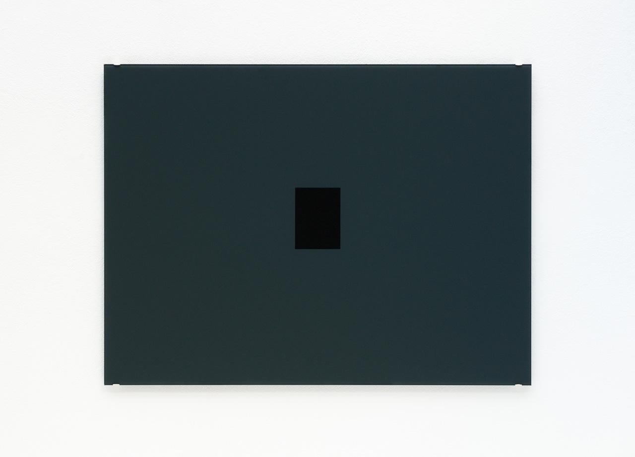 Opening, 2009, Hinterglasmalerei / reverse glass painting, 60x80cm